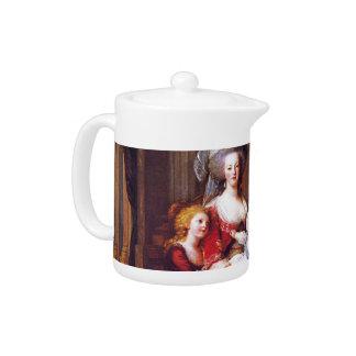Vigée-Lebrun - Marie Antoinette and her children Teapot