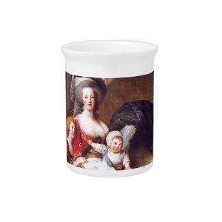 Vigée-Lebrun - Marie Antonieta y sus niños Jarrones