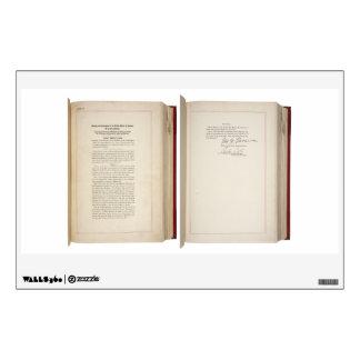 Vigésima constitución de los E.E.U.U. de la enmien Vinilo Decorativo