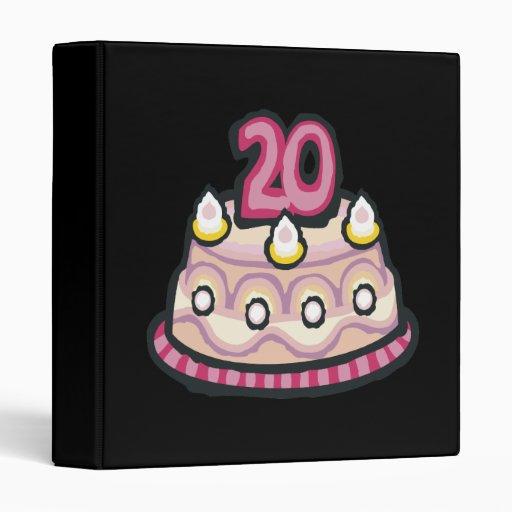 "vigésimo Cumpleaños Carpeta 1"""