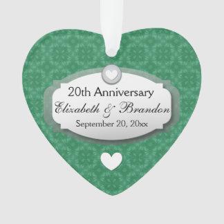 vigésimo Diamante Z07 del aniversario de boda del