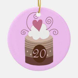 vigésimo Ideas del regalo de cumpleaños para ella Ornamentos De Navidad