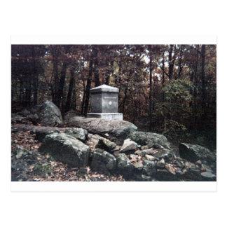 vigésimo Monumento de Maine en el pequeño top Tarjetas Postales