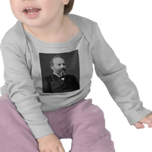 Vigésimo presidente de James Garfield Camisetas