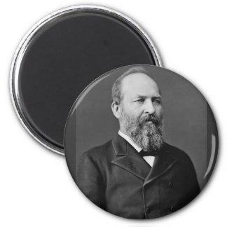 Vigésimo presidente de James Garfield Imán Redondo 5 Cm