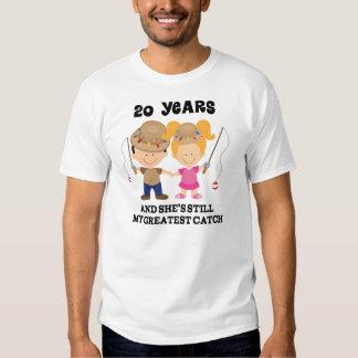 vigésimo Regalo del aniversario de boda para él Camisas