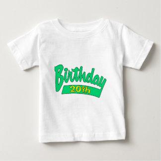 vigésimo Regalos de cumpleaños Playera