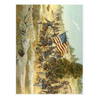 vigésimo regimiento de infantería voluntario de postal