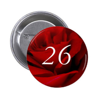 vigésimo sexto Botón del Pin del favor de fiesta d