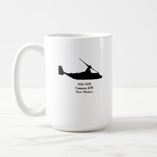 vigésimo Taza de café el SOS
