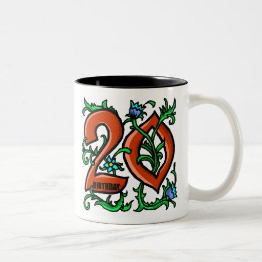vigésimo Taza de los regalos de cumpleaños