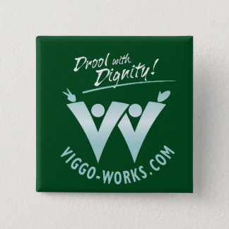 Viggo-Works Waving Fans Logo Pinback Button