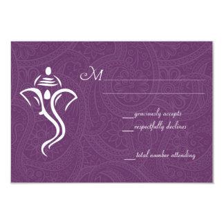 Vighneshvara Wedding RSVP Cards