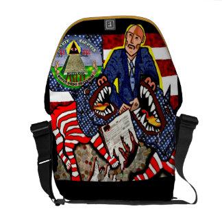 Vigilance & Liberty !!! Messenger Bag