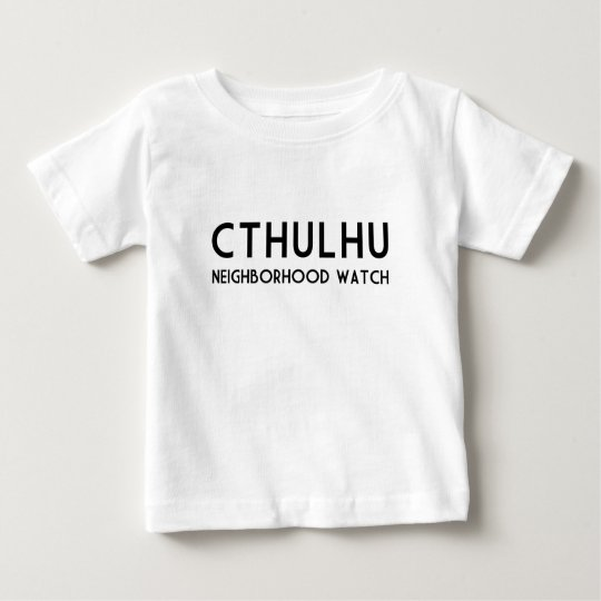 Vigilancia vecinal de Cthulhu Playera De Bebé