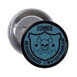 Vigilancia vecinal del zombi pins