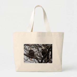 Vigilant Bald Eagles Bags