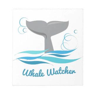 Vigilante de la ballena blocs