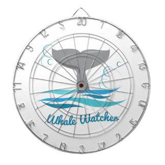 Vigilante de la ballena tablero de dardos