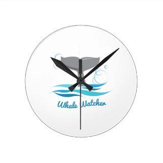 Vigilante de la ballena reloj