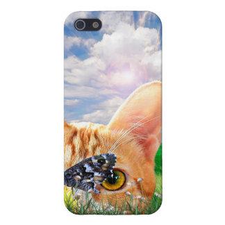 Vigilante de la mariposa iPhone 5 carcasa