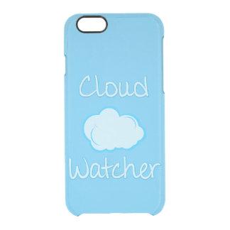 Vigilante de la nube funda clear para iPhone 6/6S