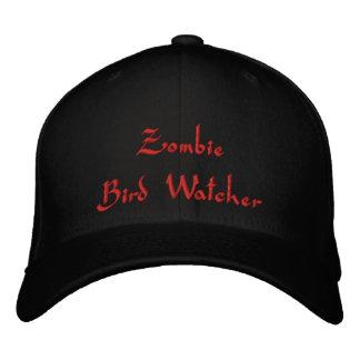 Vigilante de pájaro del zombi gorra de béisbol