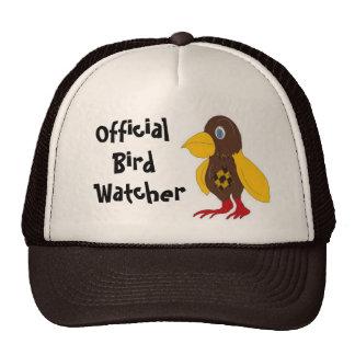 Vigilante de pájaro oficial gorro de camionero