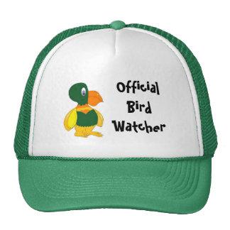 Vigilante de pájaro oficial gorra