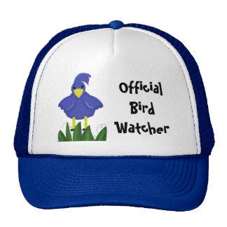 Vigilante de pájaro oficial - pájaro azul gorra