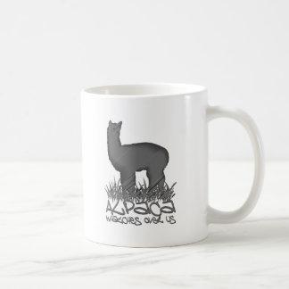 Vigilar de la alpaca nosotros taza