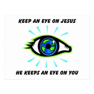 Vigile el regalo del cristiano de Jesús Postal