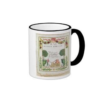 Vignette of 'Eau de Fleur d'Orange' Ringer Coffee Mug