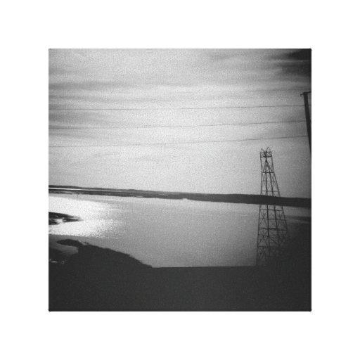 Vignettes Stretched Canvas Print - Ocean View