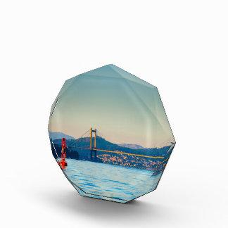 Vigo, Rande Bridge Acrylic Award
