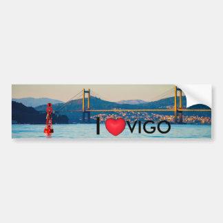 Vigo, Rande Bridge Bumper Sticker