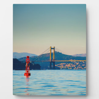 Vigo, Rande Bridge Plaque