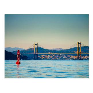 Vigo, Rande Bridge Postcard