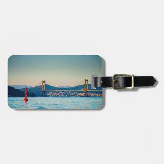 Vigo, Rande Bridge Tag For Luggage