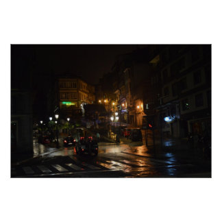 Vigo, Spain, the city that never sleeps Poster
