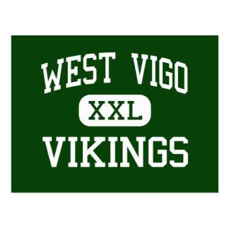 Vigo - Vikingos del oeste - altos - Terre Haute Tarjetas Postales