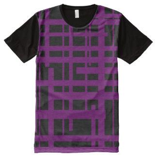 Vigore Checkerds All-Over-Print Shirt