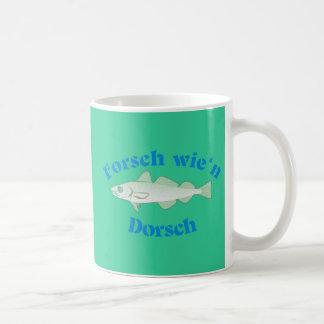 Vigorously like a cod coffee mug