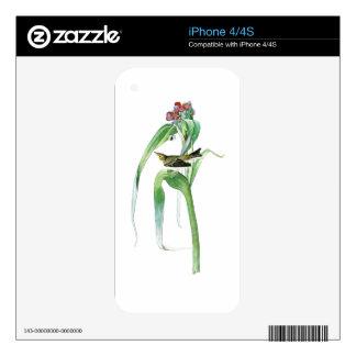 Vigor's Warbler John James Audubon Birds America Skin For iPhone 4S
