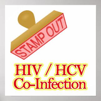VIH - Co-Infección de HCV Posters
