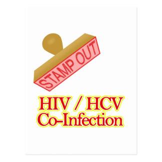 VIH - Co-Infección de HCV Tarjetas Postales