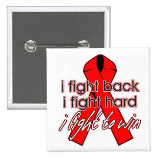 VIH del SIDA que me defiendo Pin