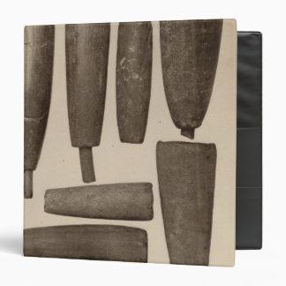 """VIII tubos de piedra, tan Calif Carpeta 1 1/2"""""""
