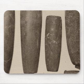 VIII tubos de piedra, tan Calif Tapete De Raton