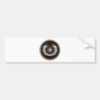 Vikin Shield Bumper Sticker